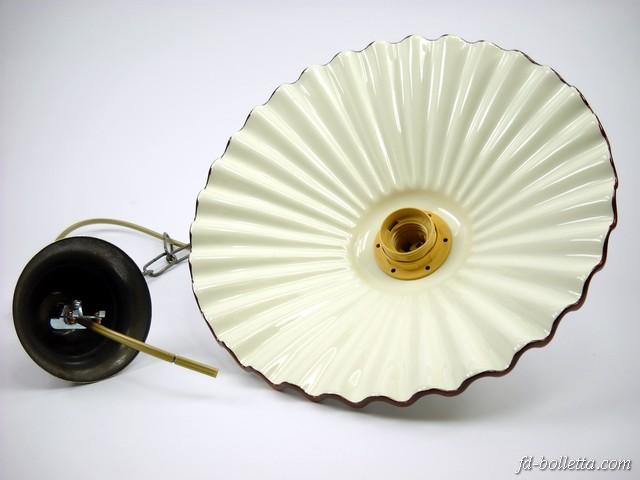 ebay lampadari antichi : Dettagli su Lampadario ottone brunito sospensione a catenella piatto ...