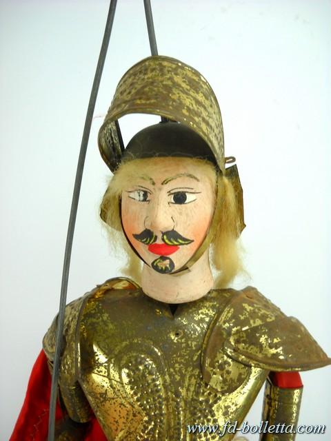 Pupo o marionetta siciliano antico a155 fd bolletta lampade for Mobili liberty siciliano