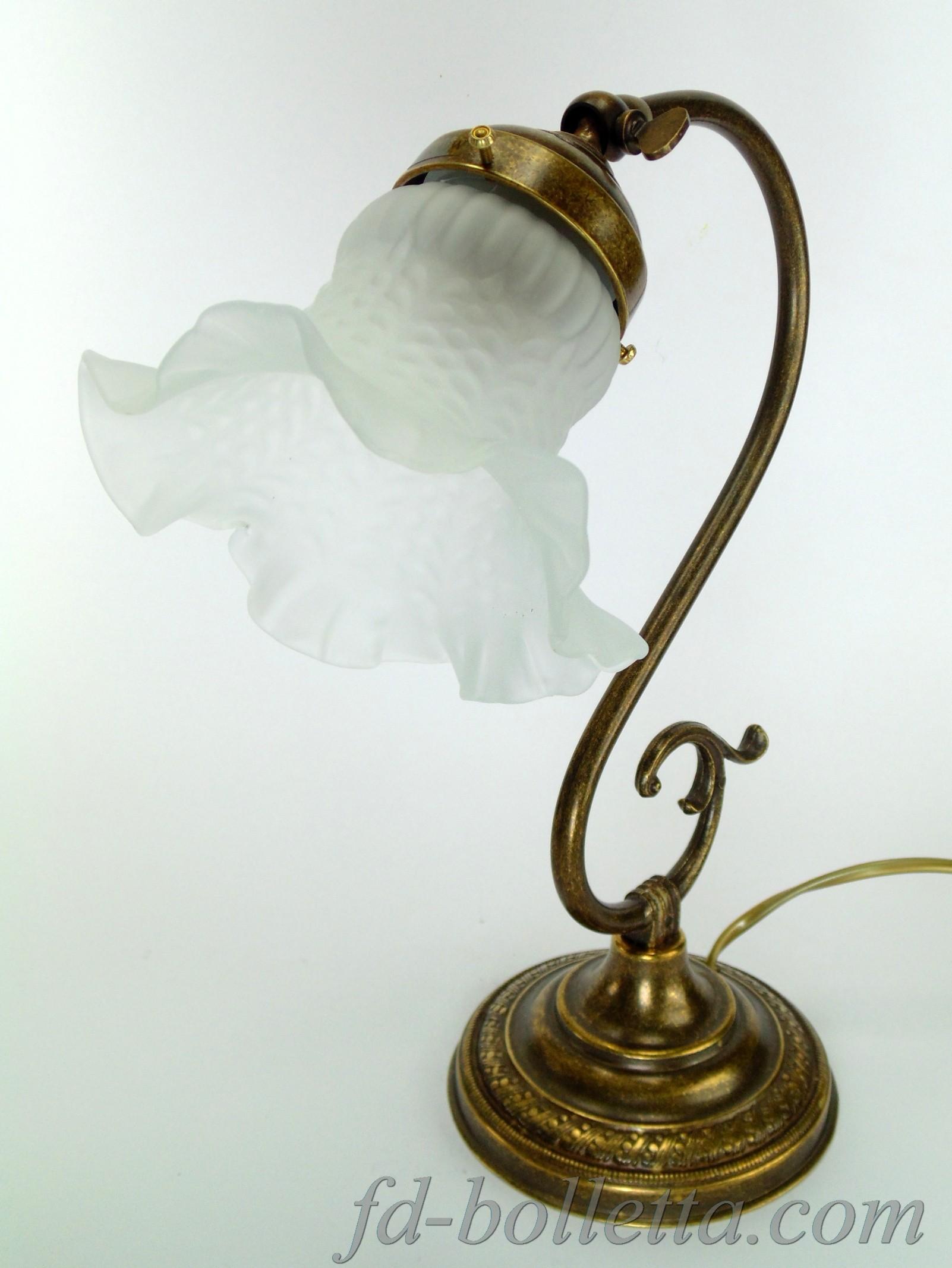 Lampade Da Tavolo Liberty : Lampada da tavolo stile liberty s fd bolletta lampade
