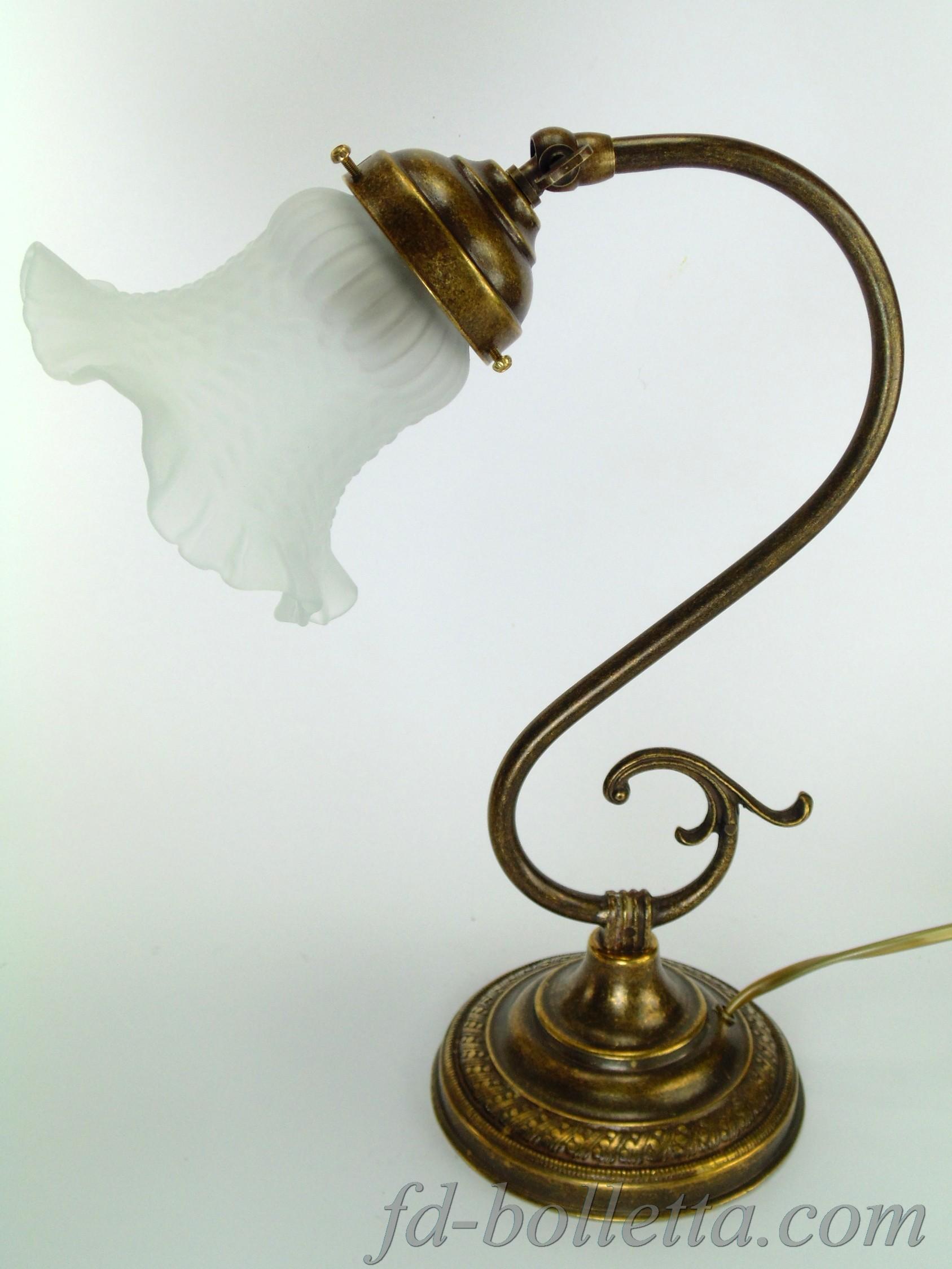 Lampada da tavolo stile liberty s30 - fd-bolletta lampade