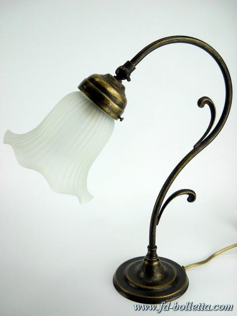 ... brunito da tavolo,scrivania,comodino,lampade stile liberty m34  eBay