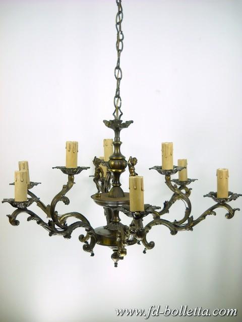 vecchi lampadari : ... lampadario in ottone,lampada rio vintage anni 70,vecchi lampadari a210