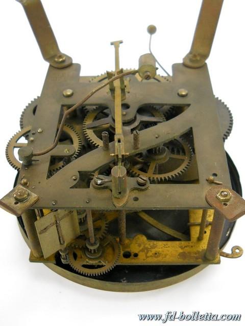 ... antico a pendolo da muro,vecchio orologio in legno da parete a204
