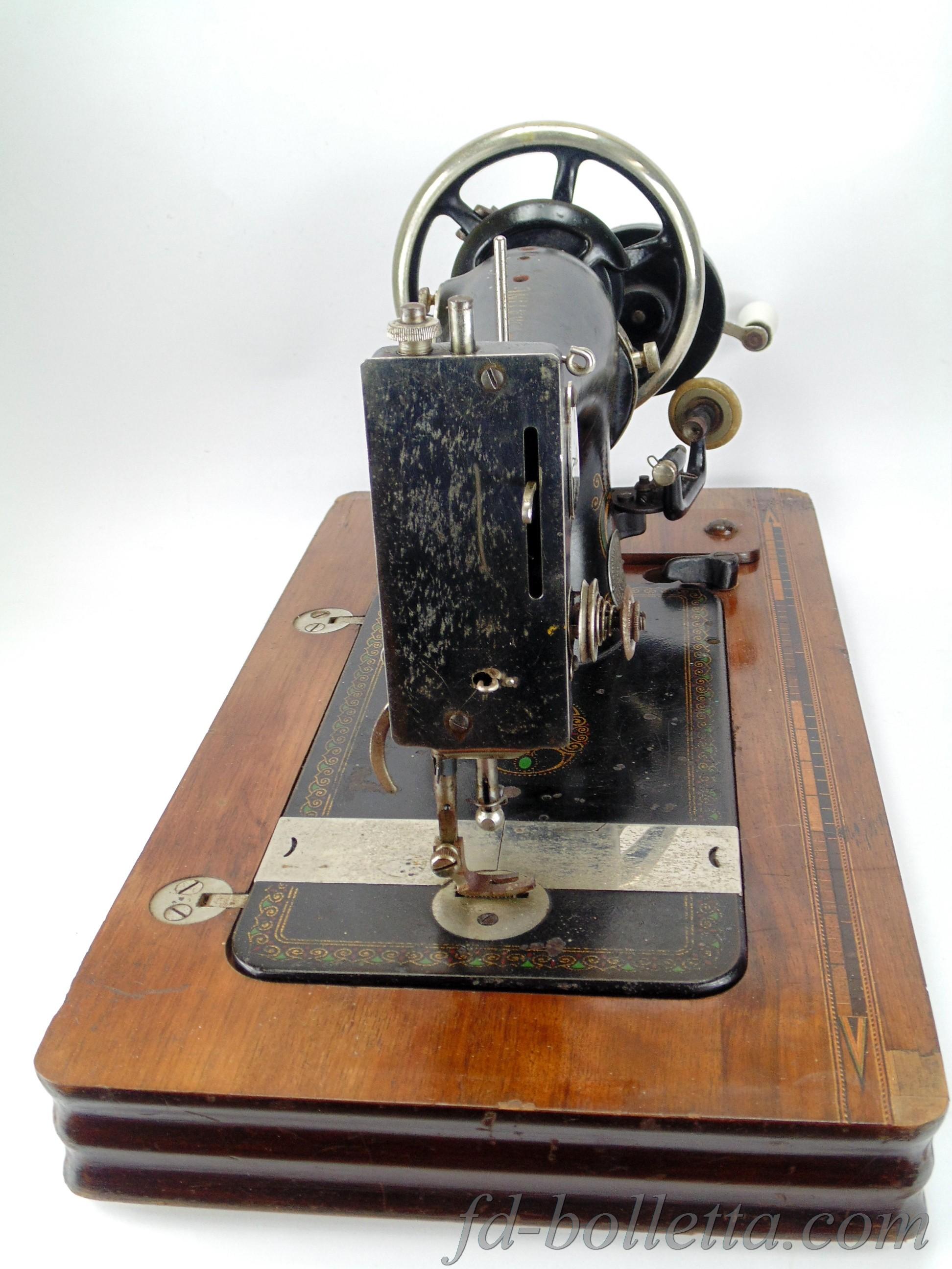 Antica macchina da cucire haid neu a643 fd bolletta for Base per macchina da cucire