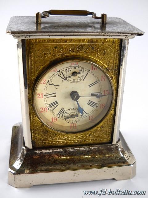 Sveglia antica cappuccina a132 fd bolletta lampade - Orologi antichi da tavolo ...